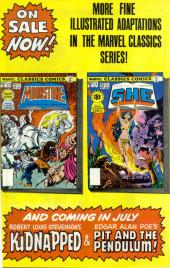 Verso de Marvel Classics Comics (Marvel - 1976) -24- She
