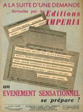 Verso de Garry (sergent) (Imperia) (1re série grand format - 1 à 189) -102- Dans l'antre du squale