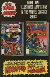Verso de Marvel Classics Comics (Marvel - 1976) -26- The Iliad