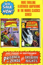 Verso de Marvel Classics Comics (Marvel - 1976) -27- Kidnapped