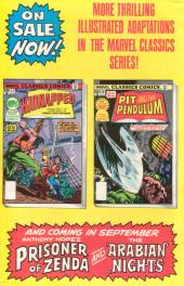 Verso de Marvel Classics Comics (Marvel - 1976) -28- The Pit and the Pendulum