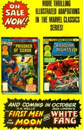 Verso de Marvel Classics Comics (Marvel - 1976) -30- The Arabian Nights