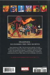 Verso de Marvel Comics - La collection (Hachette) -145104- Deadpool - Les Guerres très très Secrètes