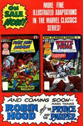 Verso de Marvel Classics Comics (Marvel - 1976) -32- White Fang