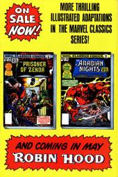 Verso de Marvel Classics Comics (Marvel - 1976) -33- The Prince and the Pauper
