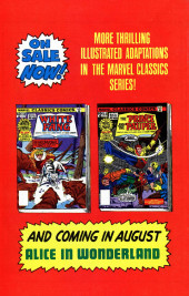 Verso de Marvel Classics Comics (Marvel - 1976) -34- Robin Hood