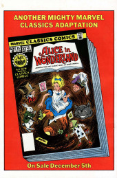 Verso de Marvel Classics Comics (Marvel - 1976) -36- A Christmas Carol