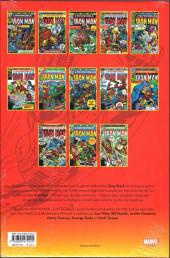 Verso de Iron Man (L'intégrale) -10- Intégrale 1976
