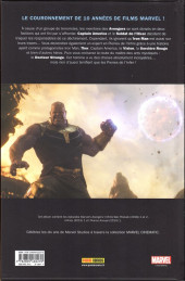 Verso de Marvel Cinematic Universe  -10- Avengers: Infinity War - Prélude