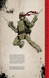 Verso de Teenage Mutant Ninja Turtles (IDW collection) -1- TMNT IDW Collection #1