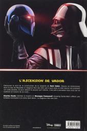 Verso de Star Wars - Dark Vador : Le Seigneur noir des Sith -4- La Forteresse de Vador