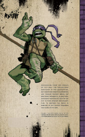 Verso de Teenage Mutant Ninja Turtles (IDW collection) -4- TMNT IDW Collection #4