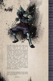 Verso de Teenage Mutant Ninja Turtles (IDW collection) -6- TMNT IDW Collection #6