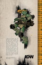 Verso de Teenage Mutant Ninja Turtles (IDW collection) -7- TMNT IDW Collection #7