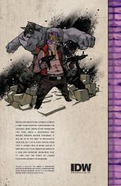 Verso de Teenage Mutant Ninja Turtles (IDW collection) -8- TMNT IDW Collection #8