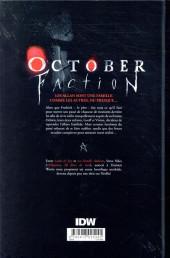 Verso de October faction -1- October faction #1