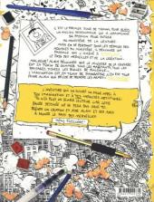 Verso de Alain au Pays des Merveilles - Tome 1