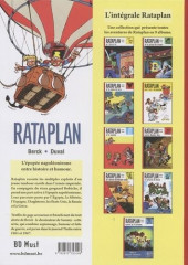 Verso de Rataplan (BD Must) -1- Rataplan et l'ibis d'or