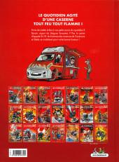 Verso de Les pompiers -19- Seau perilleux