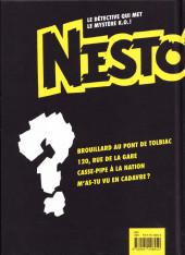 Verso de Nestor Burma - Tome INT