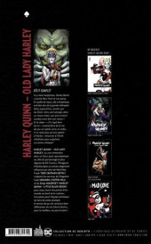 Verso de Harley Quinn - Old Lady Harley