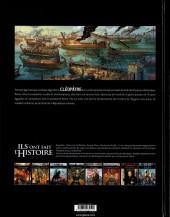 Verso de Ils ont fait l'Histoire -31- Cléopatre