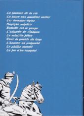 Verso de Le cavalier inconnu (Intégrale) -INT5- Volume 5