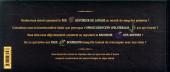 Verso de Axolot -HS- Le Bestiaire extraordinaire