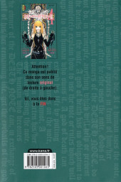 Verso de Death Note -4b- Tome 4