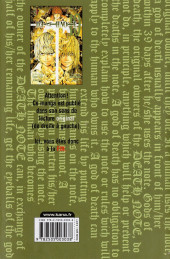 Verso de Death Note -10b- Tome 10