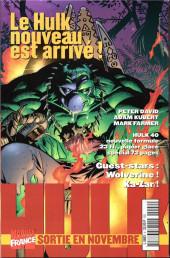 Verso de Marvel Top -9- Psylocke et archangel - Aube mortelle