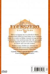 Verso de Edens Zero -6- Les mots sont source de force