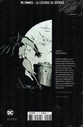 Verso de DC Comics - La légende de Batman -593- Batman année un