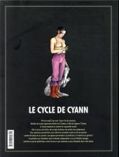 Verso de Le cycle de Cyann -INT1- Intégrale Tomes 1 et 2 + La Clé des confins