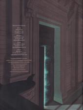 Verso de Blake et Mortimer (Les Aventures de) -HS3DP- Le Dernier Pharaon - Dossier de presse