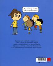 Verso de Les inséparables -6- Parfait a peur de l'école