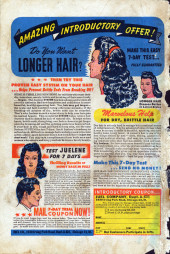 Verso de Patsy Walker (Timely/Atlas - 1945) -1- Patsy Walker