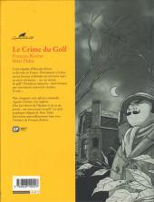 Verso de Agatha Christie (Emmanuel Proust Éditions) -7- Le Crime du Golf
