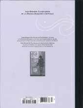 Verso de Les grands Classiques de la Bande Dessinée érotique - La Collection -93104- La Survivante - Tome 1