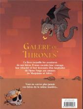 Verso de Galère of Thrones