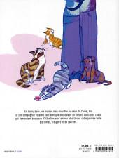 Verso de Nous vivons chez nos chats