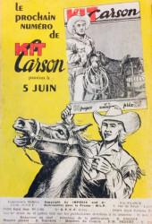 Verso de Kit Carson -4- Derniere Chance
