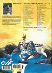 Verso de Michel Vaillant -53a2001- La nuit de Carnac