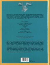 Verso de Tout Jijé -1- 1951-1952