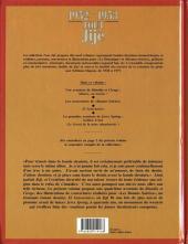 Verso de Tout Jijé -2- 1952-1953