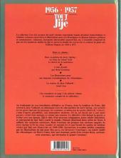 Verso de Tout Jijé -5- 1956-1957