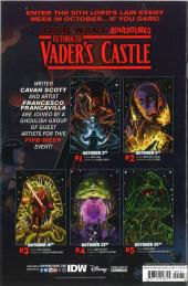 Verso de Star Wars Adventures - Return to Vader's Castle -1- The Horned Devil