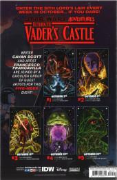 Verso de Star Wars Adventures - Return to Vader's Castle -2- The Curse of tarkin