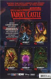 Verso de Star Wars Adventures - Return to Vader's Castle -4- Vault of the Living Brains