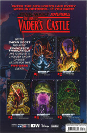 Verso de Star Wars Adventures - Return to Vader's Castle -5- Night of the Lava Zombies
